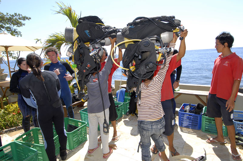 bali dive center diving packages
